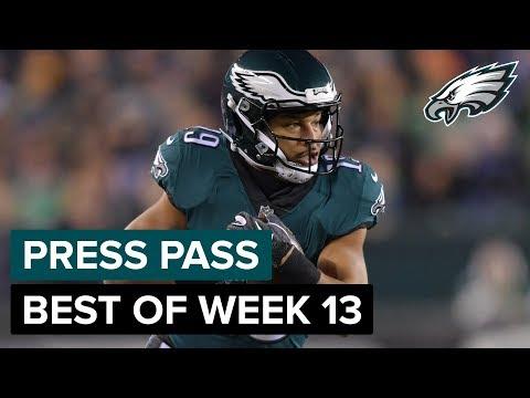 Golden Tate, Jason Kelce, & More Recap Week 13 Win | Eagles Press Pass Compilation