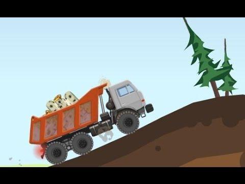 Грузовик ролик для мальчиков. Игра про грузовик: видео игры рузовики самосвалы фуры