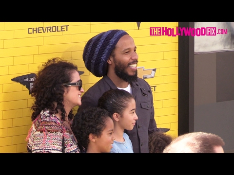 Ziggy Marley & His Family Attend The Lego Batman Los Angeles Movie Premiere 2.4.17