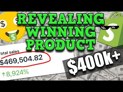 Revealing My BEST Selling Shopify Product $400k+ (Dropshipping) thumbnail