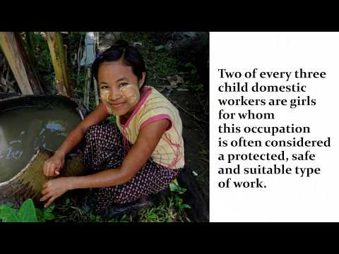 Child Domestic Workers - Acting against child labour in domestic work