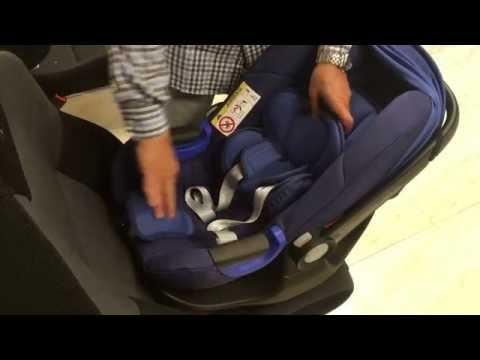 Pack Britax Romer Baby Safe I-Size con base ISOFIX | Sillas Auto [4K]
