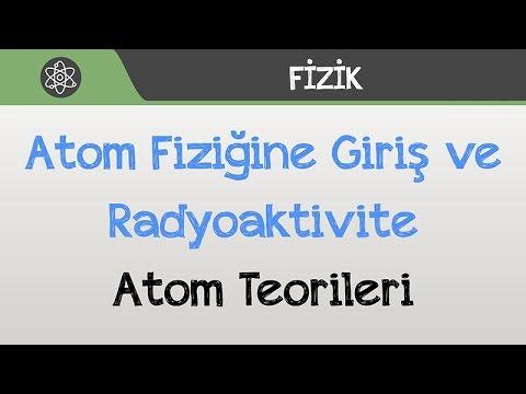 Atom Fiziğine Giriş ve Radyoaktivite - Atom Teorileri