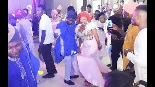 Lovely Mide Martins and husband Dance romantically as he stop Kunle Afod from dancing with his Wife