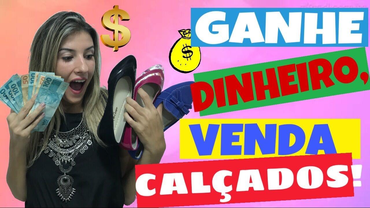 1c54a5137 COMO GANHAR DINHEIRO COM REVENDA DE SAPATILHAS  - YouTube