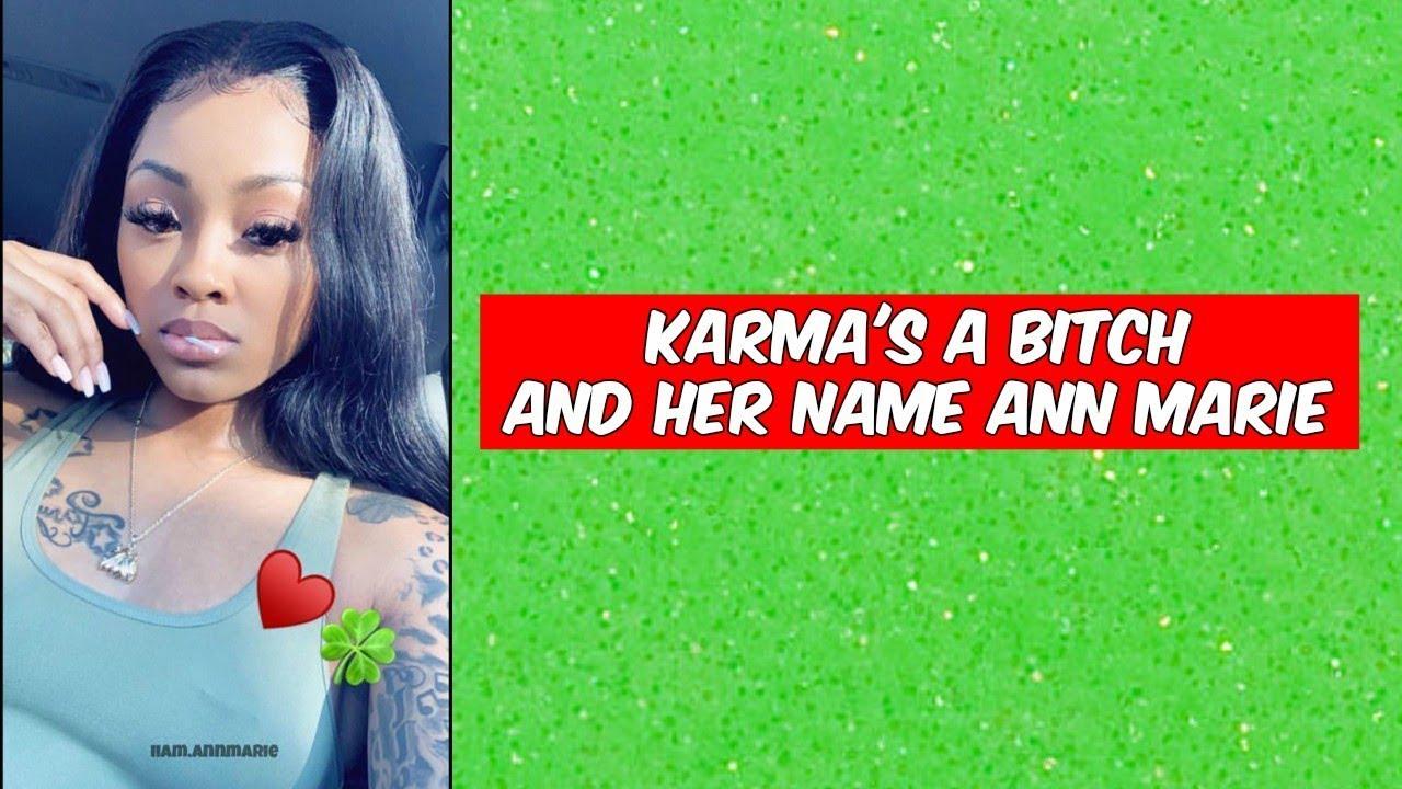 Ann Marie - Karma (Lyrics) - Sassy Diva
