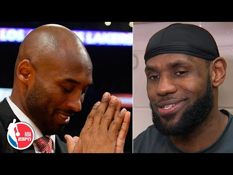 LeBron shares his fondest memories of Kobe after passing him on all-time scoring list | NBA Sound