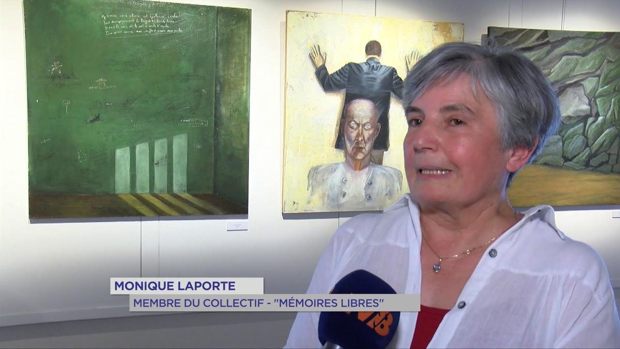 """Exposition : Des Maurepasiens transmettent un message de """"Résistances"""""""
