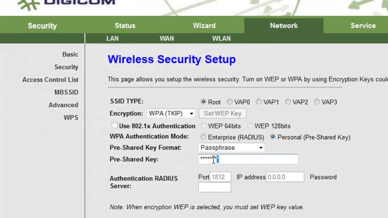 DIGICOM DG-5524T Router Driver Download