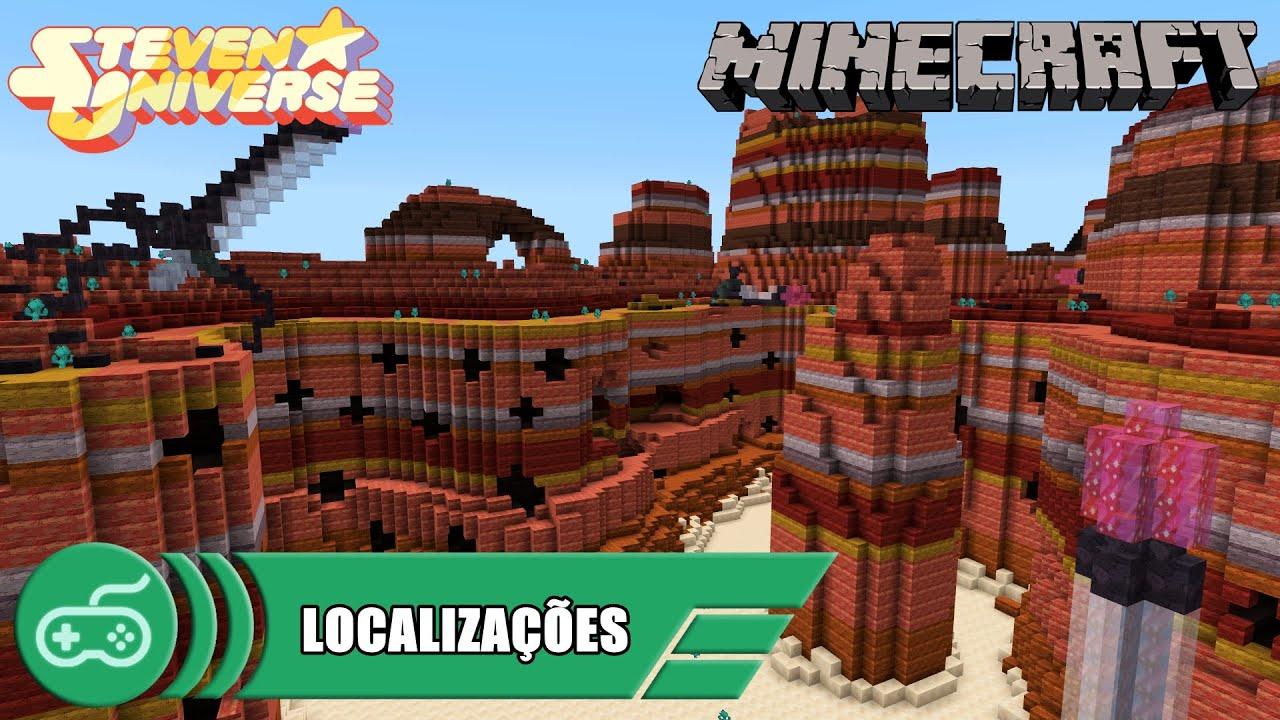 Minecraft Steven Universe Dlc Localizações Parte 01 Youtube