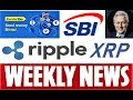 RIPPLE WEEKLY NEWS: SBI Holdings/ TransferGo/ Fall Tech Conference