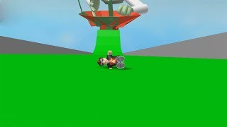 ROBLOX: I WENT DOWN ON A VERY CRAZY SLIME SLIDE!