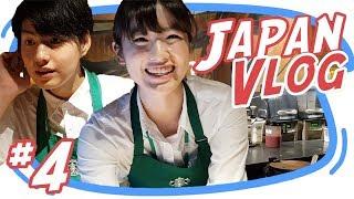PEGAWAI STARBUCKS JEPANG MUKANYA KAYAK Japan Vlog 4