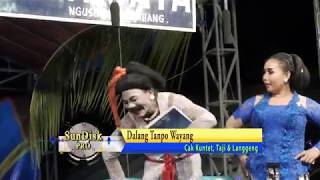 Ludruk BUDHI WIJAYA Lawakan Cak Kuntet CS Episode Dalang Tiban//Dalang Tanpo Wayang PART 03