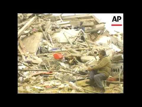 Russia - Sakhalin Quake Rescue Work