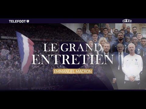 """Evénement - Macron : """"L'Equipe de France a toute ma confiance"""""""