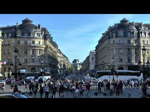 Paris France Place de l'Opéra