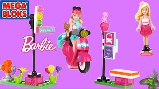 Barbie Mega Bloks Barbie Build N Play Scooter With Barbie Doll