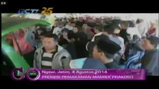 Prosesi Pemakaman Pelawak Mamiek Prakoso