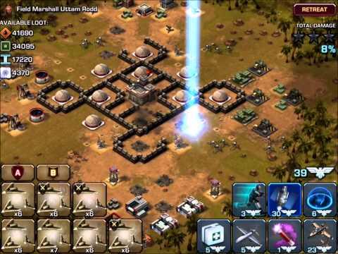 Empires & Allies Mobile - Boss Fight Uttam Rodd