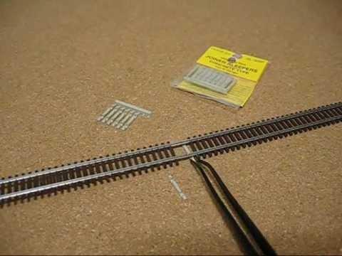 Code 55 Peco SL-309F N Gauge Additional Sleepers Concrete