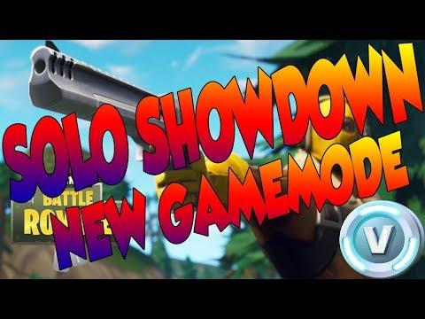 SOLO SHOWDOWN NEW GAMEMODE IN FORTNITE BATTLE ROYALE! SOLO SHOWDOWN TOURNAMENT