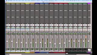Tracking Instruments & Vocals with Pro Tools: Rough Mix Tutorial
