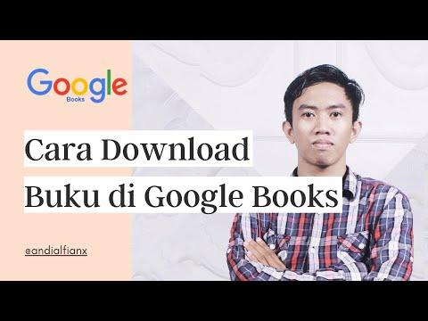 CARA DOWNLOAD BUKU DI GOOGLE BOOKS - YouTube