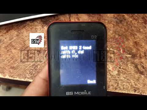 BS Mobile D2 Imei Repair Code | RDA Coolsand IMEI Repair Code