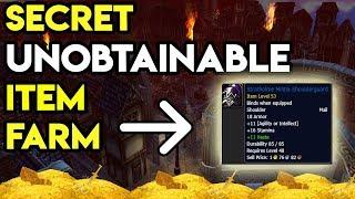 World Of Warcraft Unobtainable Item Farm
