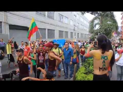 R.V.S Presente en VII Marcha Carnaval contra Anglogold Ashanti