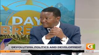 DAY BREAK | Talking Devolution, Politics and Development with Governor Mutua
