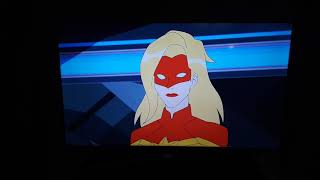 Opening to Captain Marvel 2019 Blu Ray