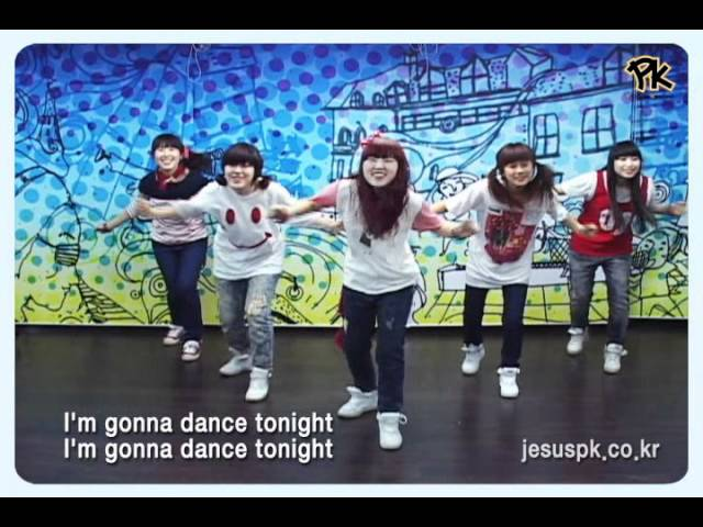 [PK] More More More-Promise Keepers Worship Dance (praise and worship songs / Christianity) children Travel Video