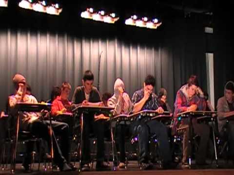 Orting High School Drumline Has Class!