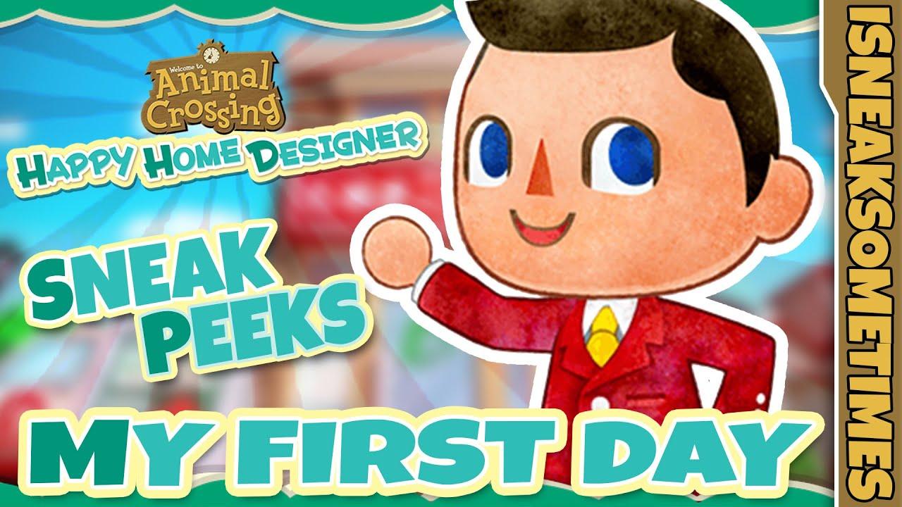 """Animal Crossing: Happy Home Designer - """"Sneak Peeks ..."""