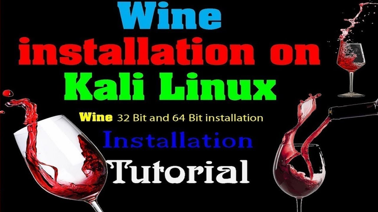 how to install wine 32 & 64 in kali linux 2017 1