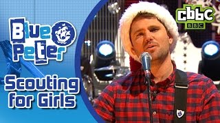 Scouting for Girls perform Christmas in the Air (Tonight) on Blue Peter - CBBC