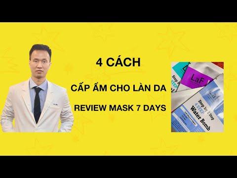 4 Cách CẤP ẨM cho làn da KHÔ - bong tróc   Bí quyết chăm sóc da  - Dr Hiếu