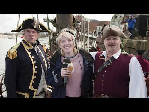 Wells Pirate Fest - Trail's End for Radio Norfolk Treasure Quest