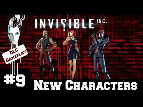 Invisible Inc - Contingency Plan New Characters - Gameplay/Walkthrough - Part 9