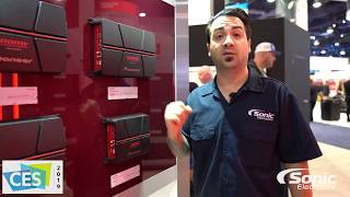 cES 2019 Overview - Pioneer GM-A3702 2 Channel Amplifier
