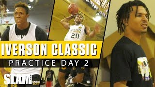 Jahmi'us Ramsey GOES CRAZY at Iverson Classic Day 2 Practice