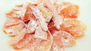 Цукаты из тыквы - Вкусный десерт из тыквы - Вкуснее мармелада / Candied pumpkin Recipe