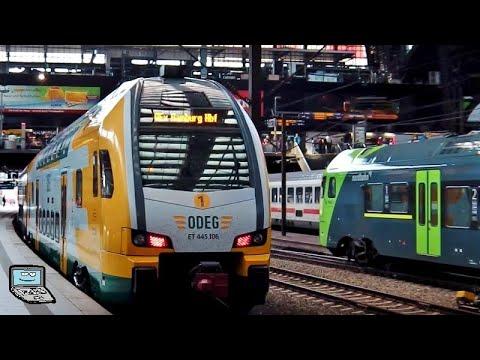 Hamburg Hbf [2016] mit ICE-TD, NOB, 18 201, BR 01, nordbahn, ODEG KISS, metronom, ECs (🇩🇰,🇨🇿) & mehr