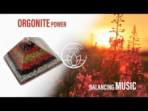 Orgonite Energy Balancing Music - Crystal Healing, Charging Gemstones