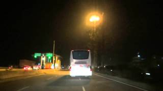 Chasing the KSRTC Mercedes Benz Luxury Bus
