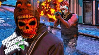 Escape The PURGE In GTA 5! part 2