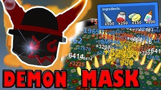 Crafting the *STRONGEST* Mask In Game!!! - Roblox Bee swarm simulator