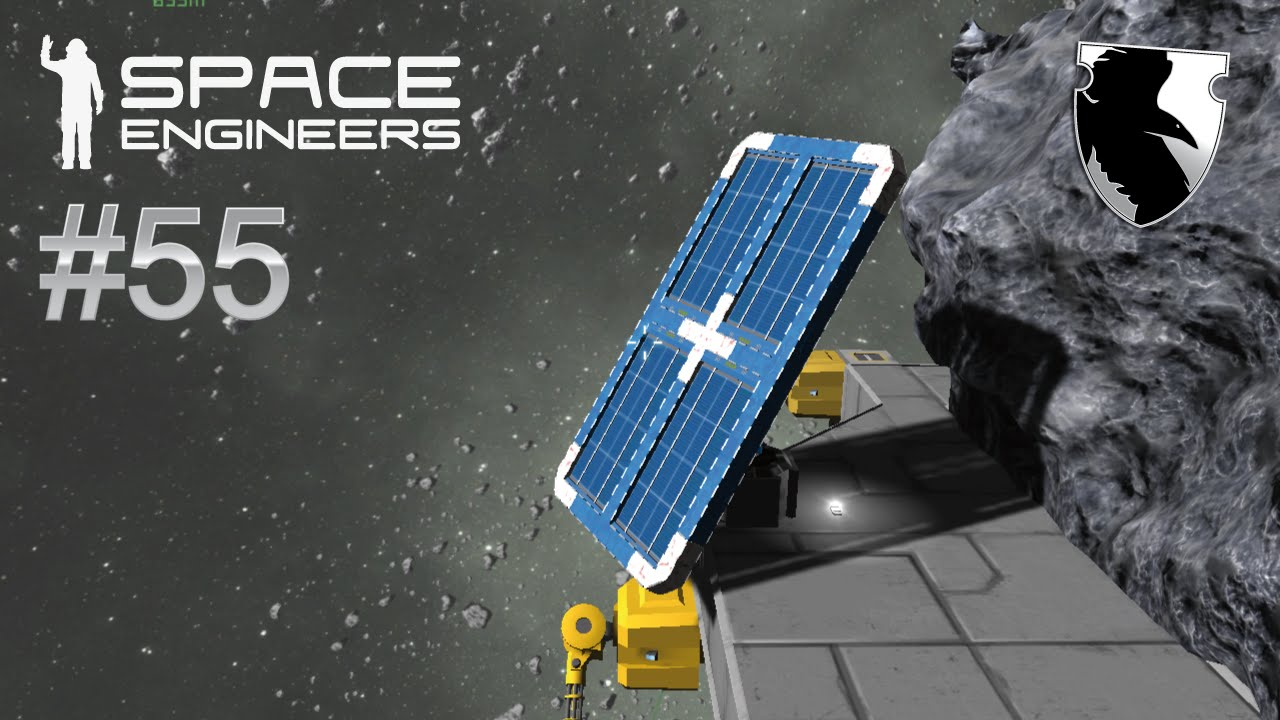 Space Engineers Survival More Solar Power Ep 55